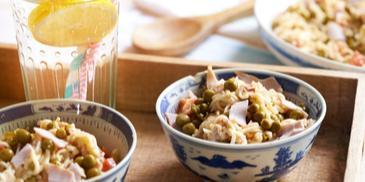 Sałatka z zupek chińskich