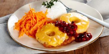 Ziemniaki faszerowane serem, szynką lub boczkiem z sosem czosnkowym