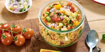 Sałatka kuskus z warzywami