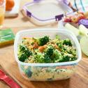 Sałatka z kuskusem i brokułami