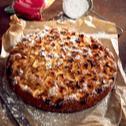 Puszyste ciasto jabłkowe z kisielem