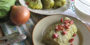 Kresowe gołąbki z ziemniakami