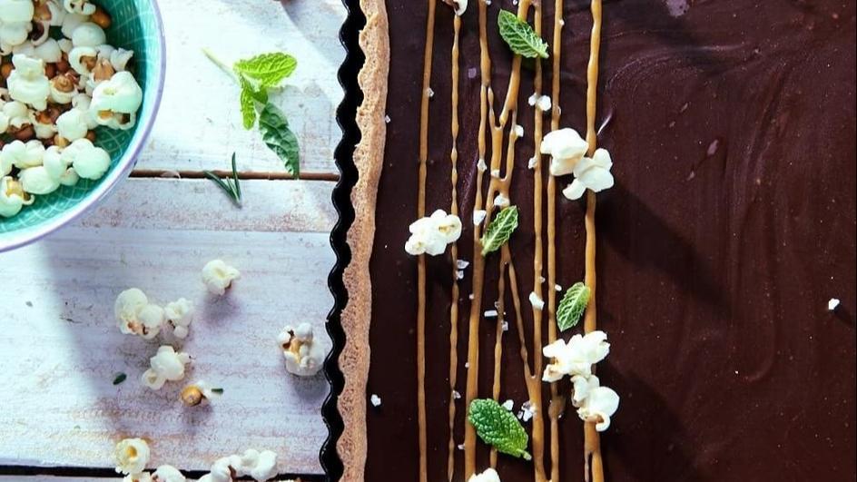 Mazurek czekoladowo-kawowy