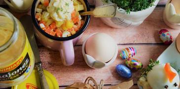 Sałatka tradycyjna z majonezem