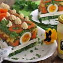 Galareta  z majonezem i warzywami