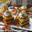 Dyniowo- pomarańczowe ciasto