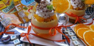 Dyniowo-pomarańczowy deser