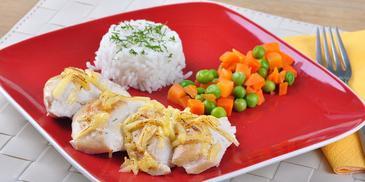 Piersi kurczaka pieczone z serem