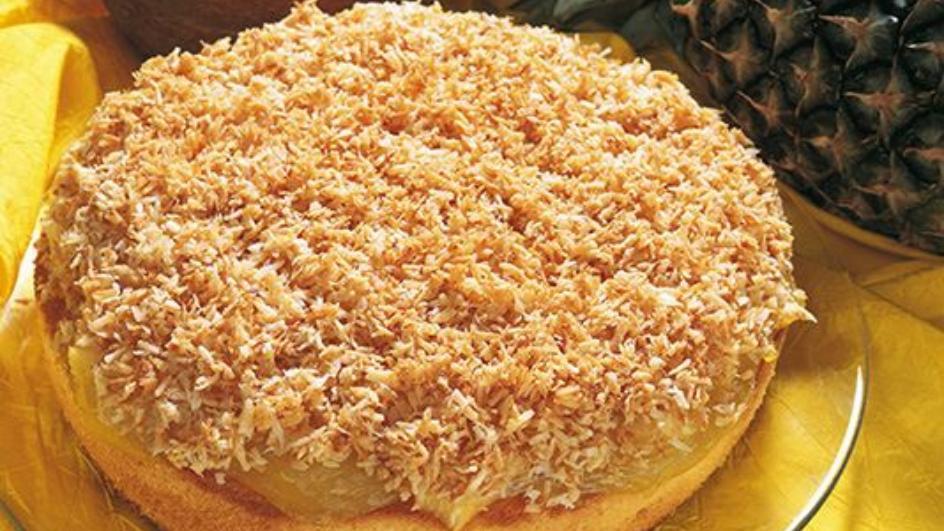 Ciasto kokosowe z ananasem