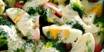 Sałatka z brokułów (dietetyczna)