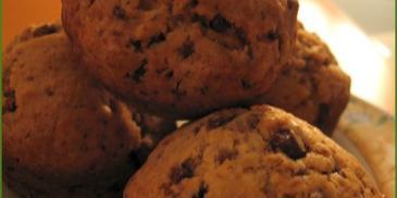 Muffinki bananowo-czekoladowe