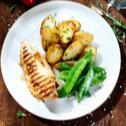 Filety grillowane nadziewane pieczarkami i serem