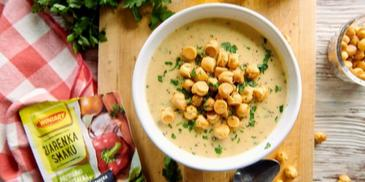 Zupa krem z serem