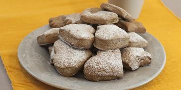 Ciasteczka kruche z cynamonem