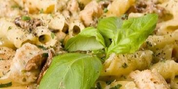 Kurczak w sosie śmietanowo-ziołowym