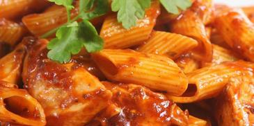 Pomidorowo-paprykowa potrawka z kurczaka