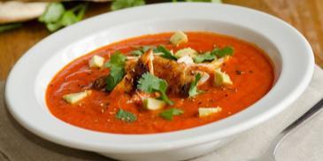 Zupa - krem z pieczonej papryki