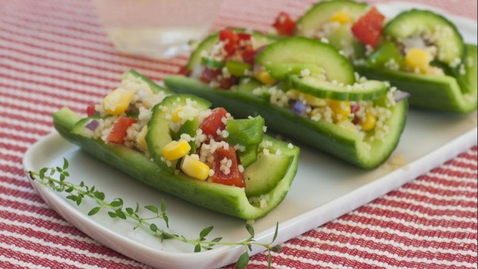 Sałatka z kuskusu i warzyw