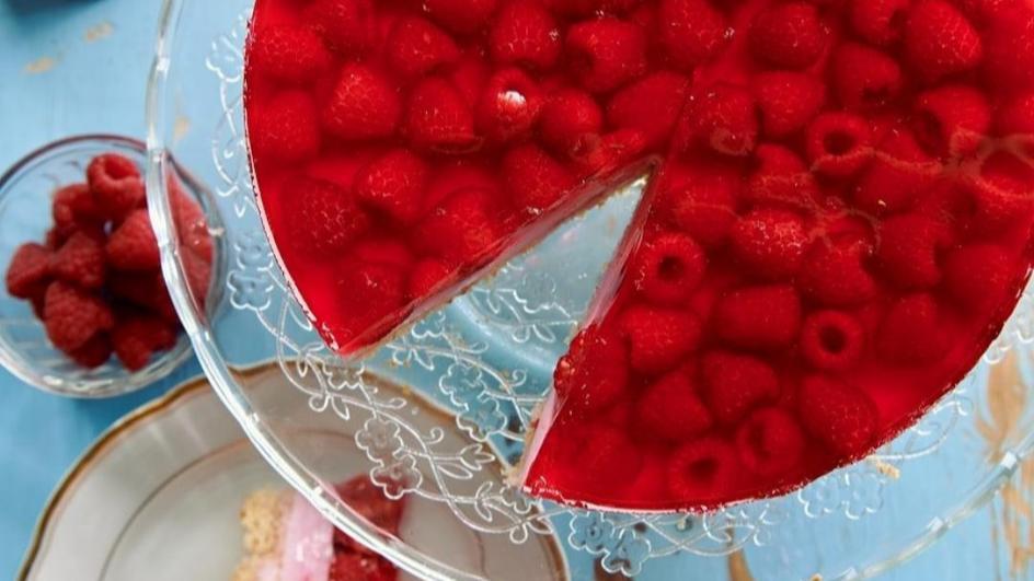 Ciasto jogurtowo- malinowe