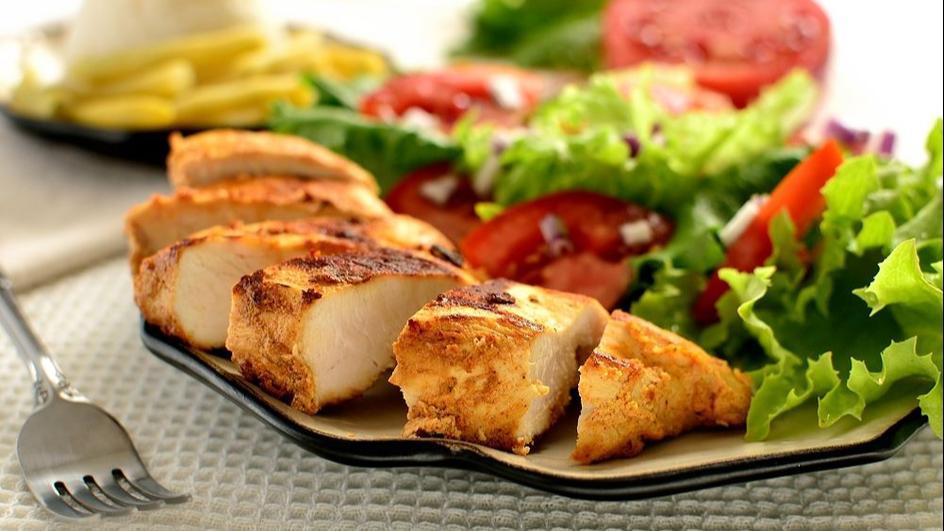 Grillowane filety z kurczaka