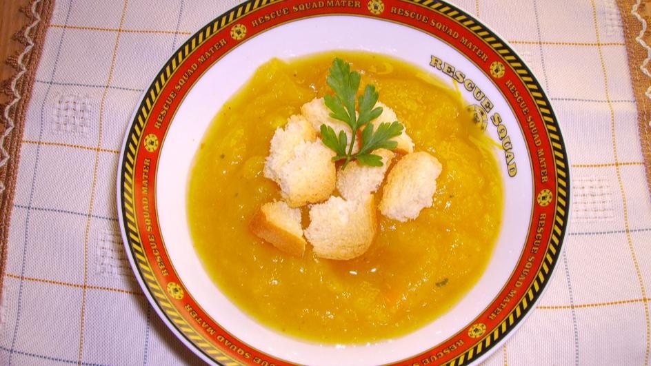 Kremowa zupa dyniowa z curry