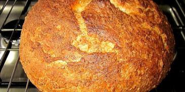 Chleb pszenny na kefirze  i drożdżach