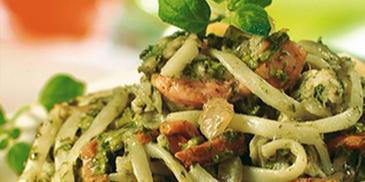 Kurczak na zielono - ze szpinakiem