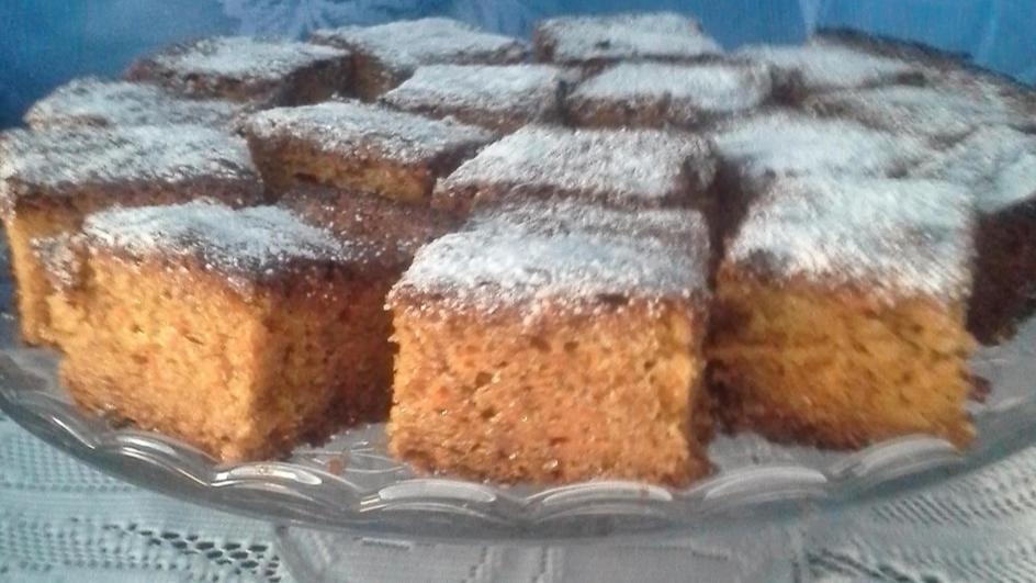 Ciasto marchewkowo-jabłkowe