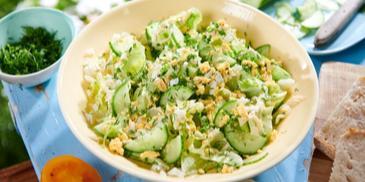 Letnia sałatka zielona
