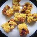Ciasto maślankowe z owocami
