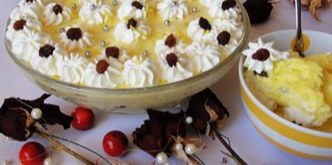 Szpajza cytrynowa - śląski deser