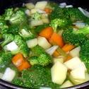 Zupa brokułowa z serkiem topionym