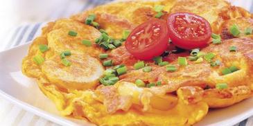 Omlet z ziemniakami