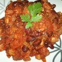Czerwona fasola w sosie pomidorowym