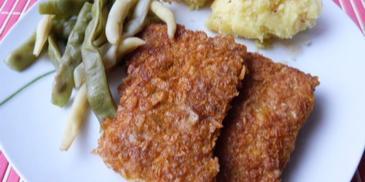 Filety rybne w płatkach kukurydzianych