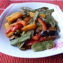 Warzywa z patelni z masłem i bułką tartą