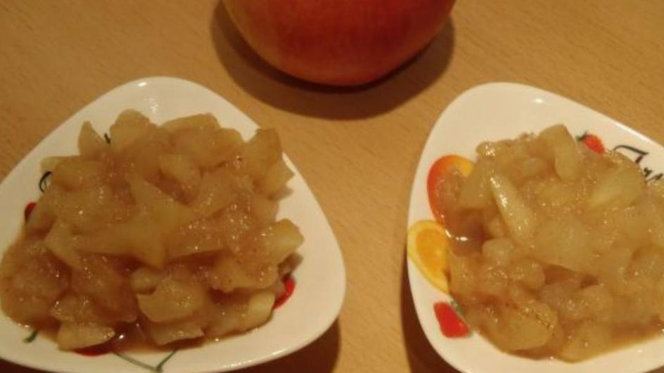 Smażone jabłka do naleśników lub ciast