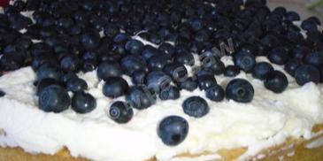 Tarta jagodowa z kremem mascarpone