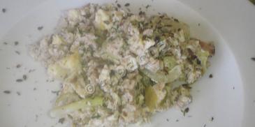 Móżdżek wieprzowy z jajkami