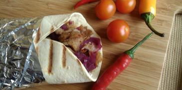Domowy kebab na ostro z wołowiną