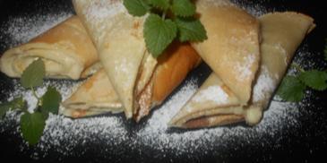 Naleśniki z mascarpone i bananem