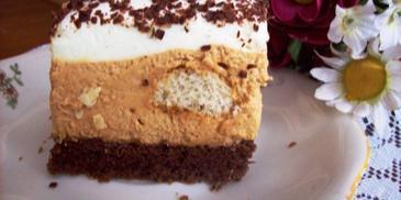 Ciasto z krówką i kawą