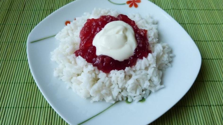 Ryż z dżemem