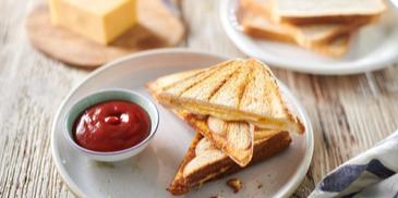 Tosty z serem i szynką
