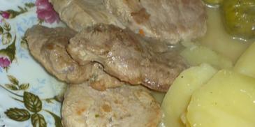 Polędwica wieprzowa w sosie