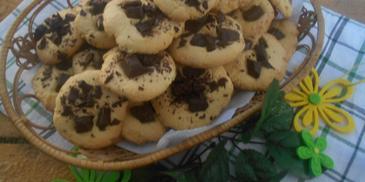 Kruche ciasteczka z gotowanymi żółtkami
