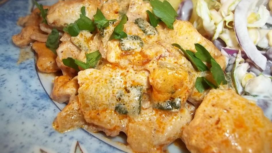 Pikantna pierś z kurczaka