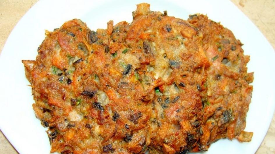 Placuszki z gotowanego mięsa drobiowego