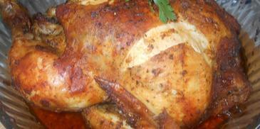 Pieczony kurczak z musztardą