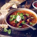 Zupa meksykańska z pulpecikami